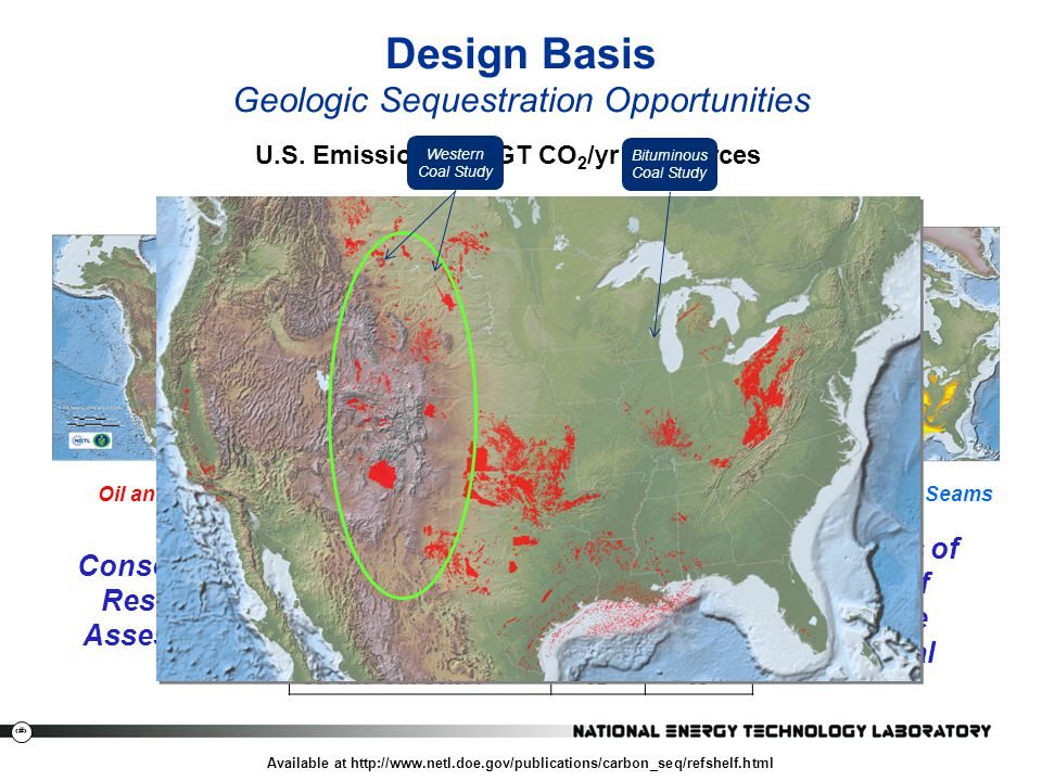 Design Basis Geologic Sequestration Opportunities
