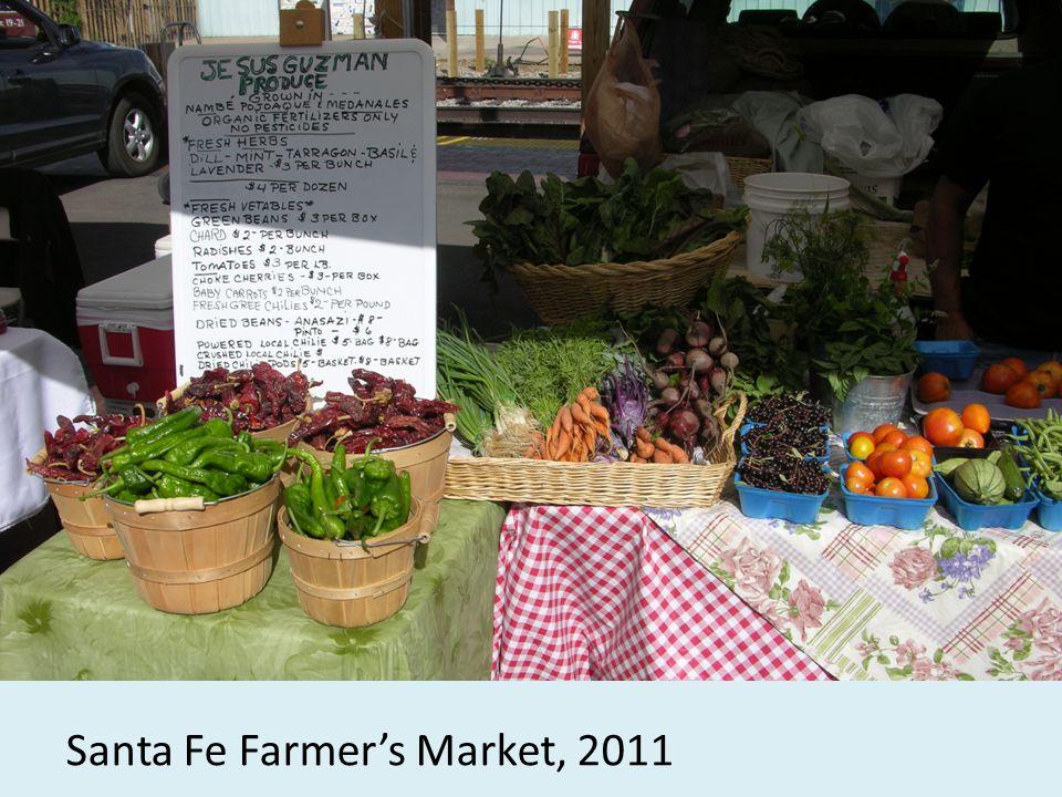 Santa Fe Farmer's Market, 2011