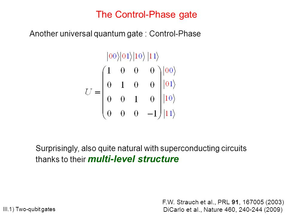 The Control-Phase gate
