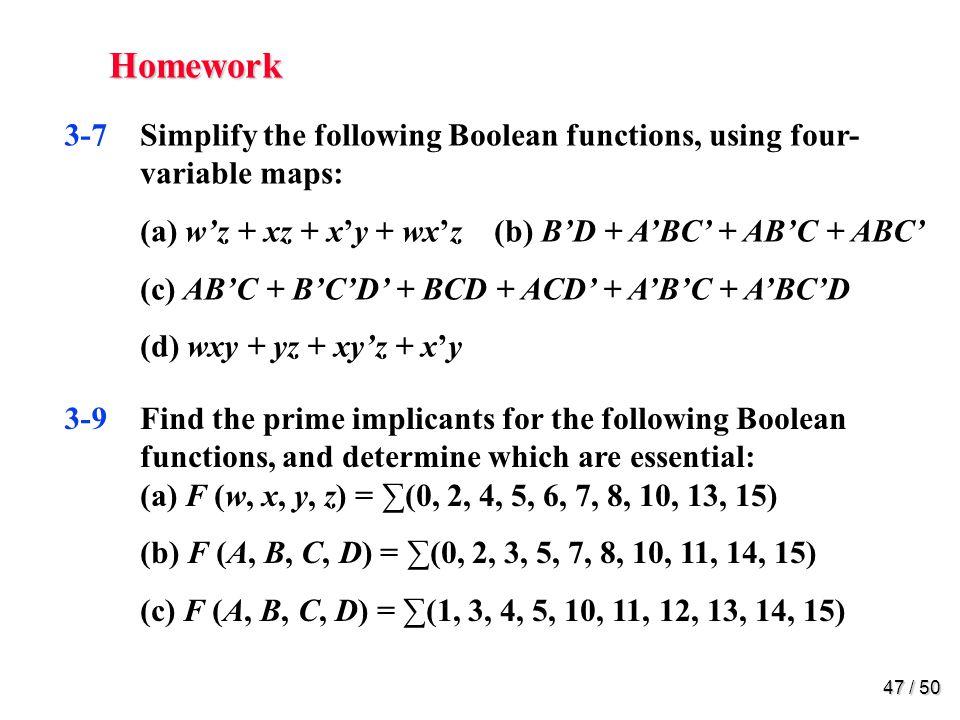 Homework 3-15.