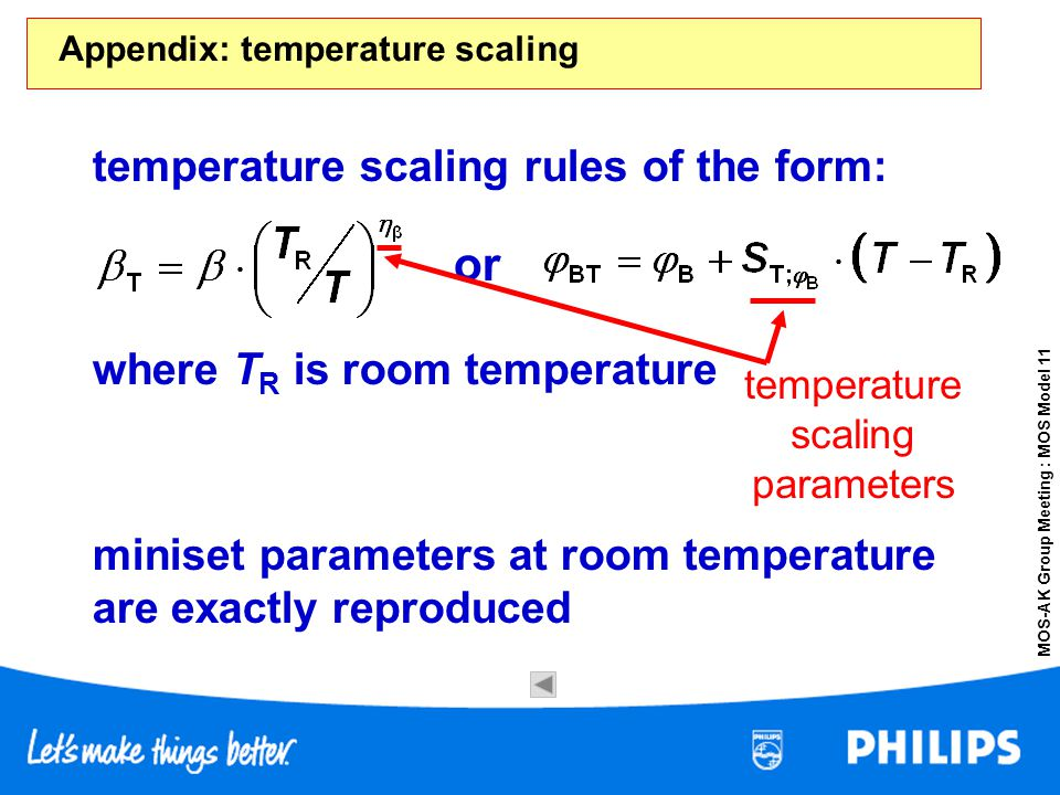 Appendix: temperature scaling