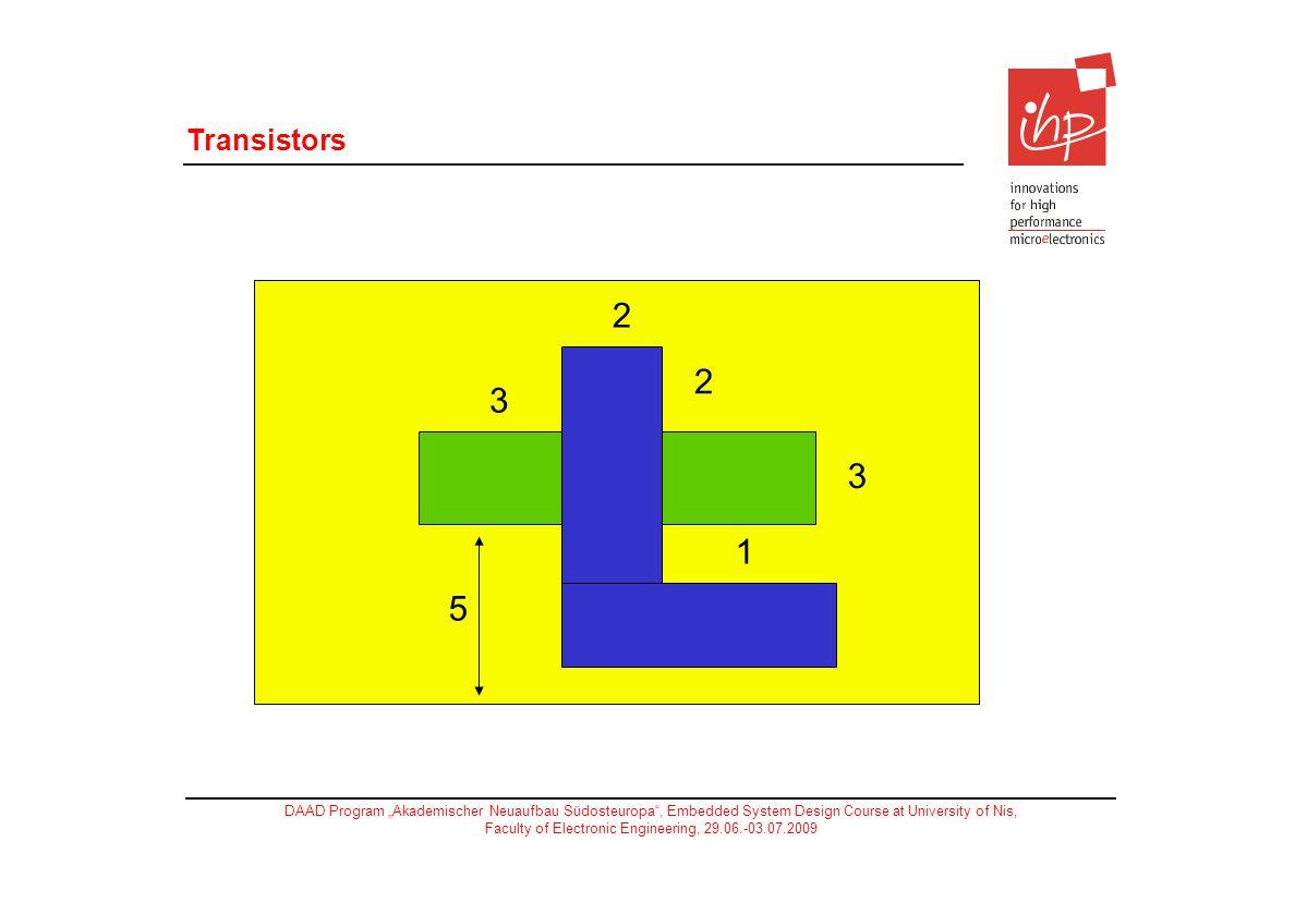 Transistors 2 3 1 5