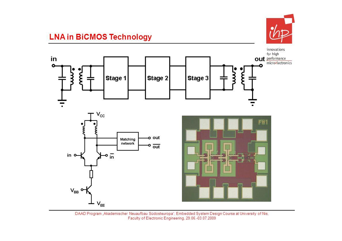 LNA in BiCMOS Technology