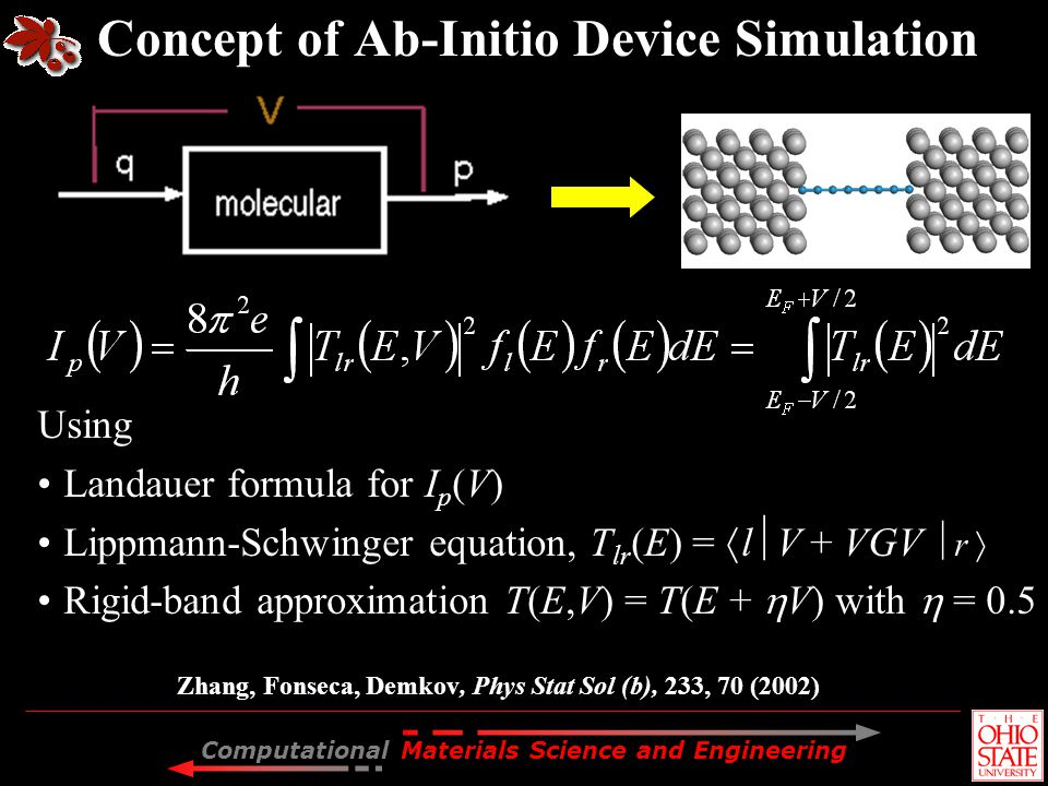 Concept of Ab-Initio Device Simulation