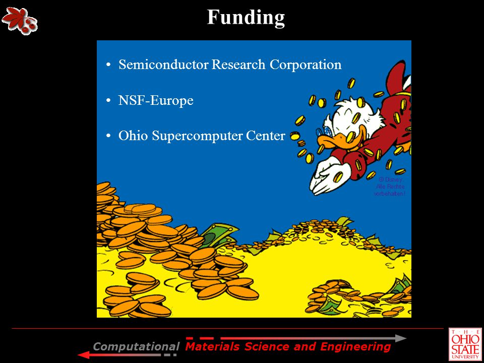 Funding Semiconductor Research Corporation NSF-Europe