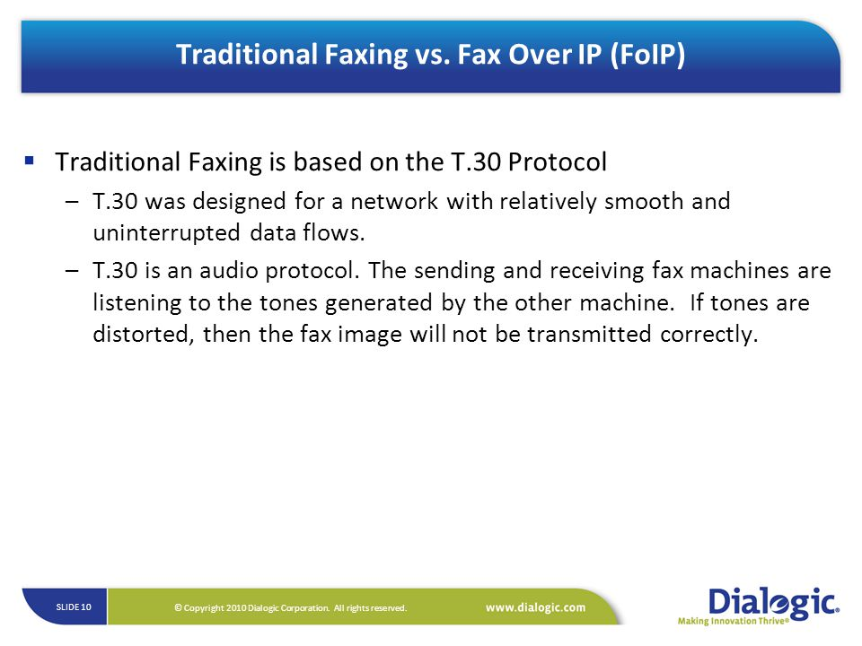 Traditional Faxing vs. Fax Over IP (FoIP)