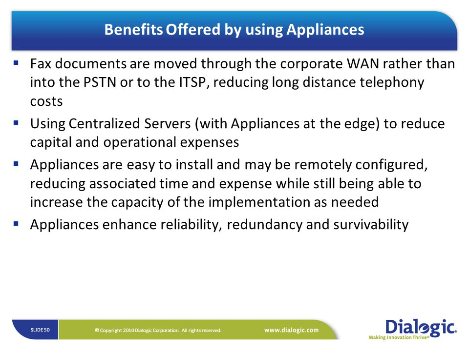 Benefits Offered by using Appliances