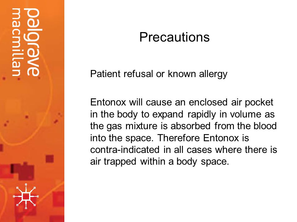 Precautions Patient refusal or known allergy