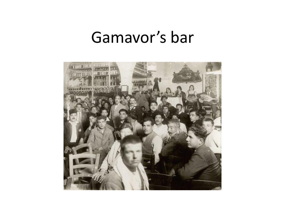 Gamavor's bar