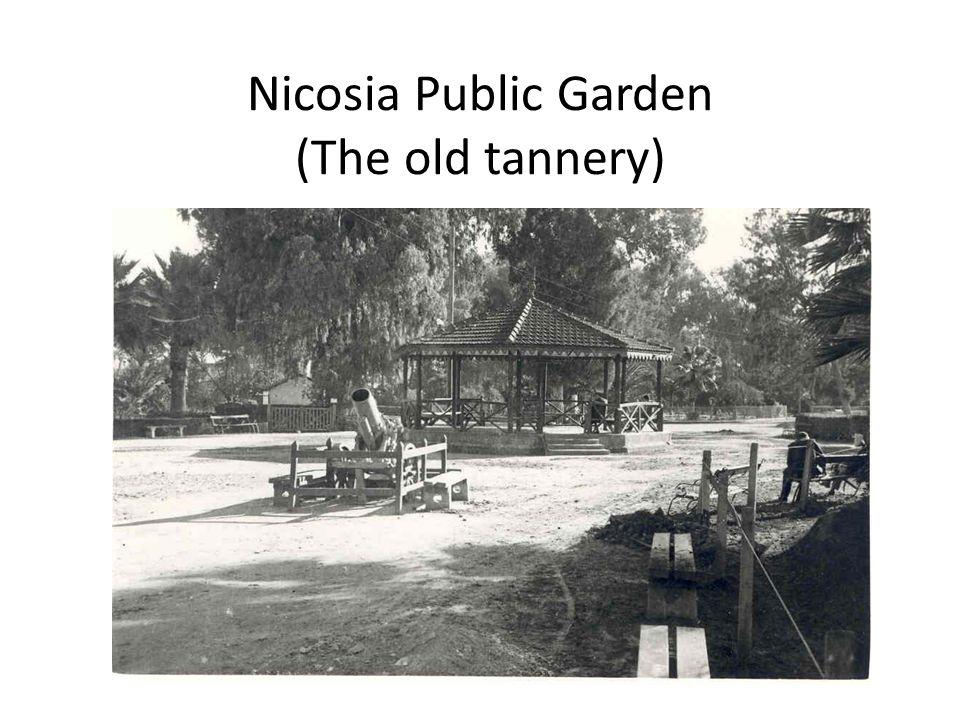 Nicosia Public Garden (The old tannery)