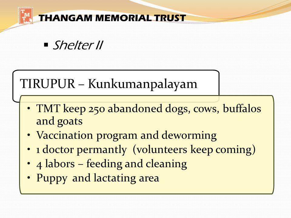 TIRUPUR – Kunkumanpalayam