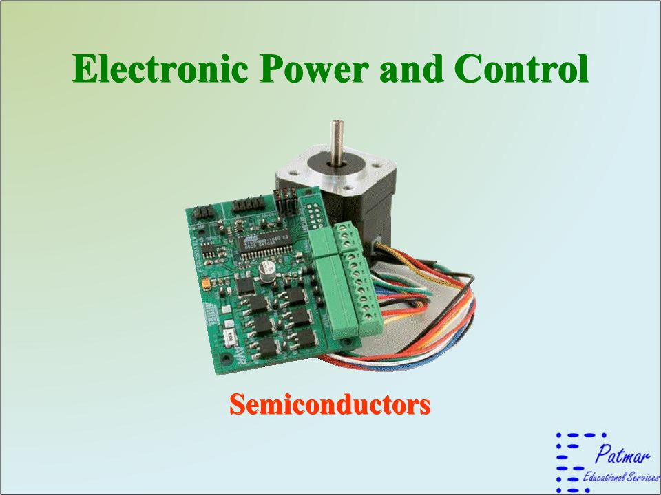 Electronic Power and Control Electronic Power and Control