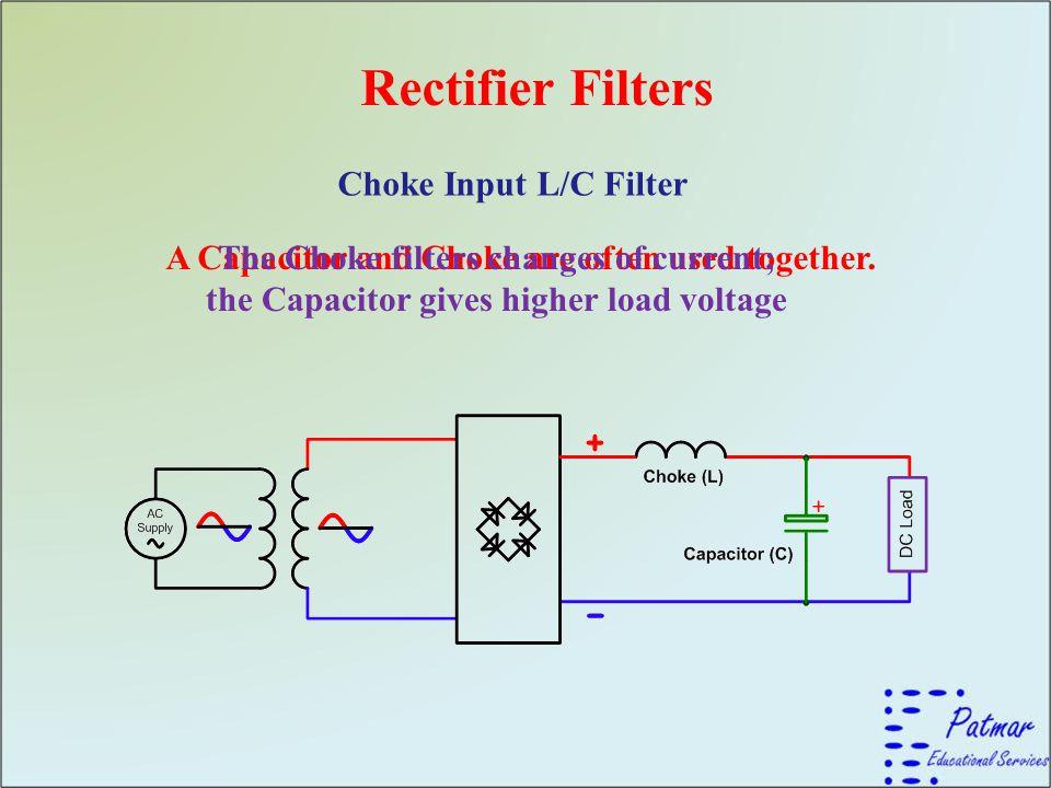 Rectifier Filters Choke Input L/C Filter