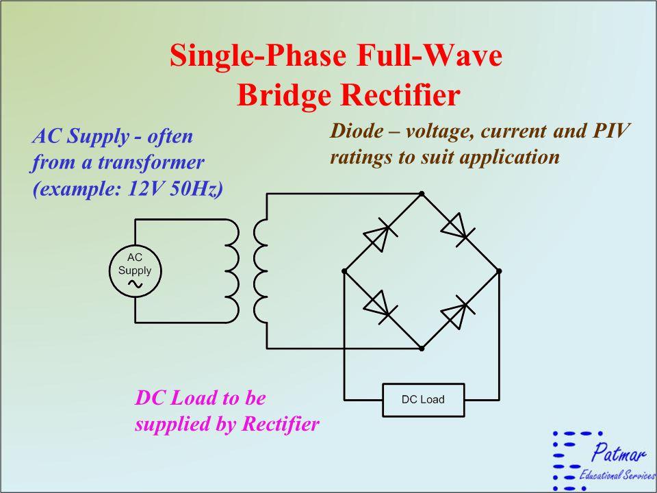 Single-Phase Full-Wave Bridge Rectifier