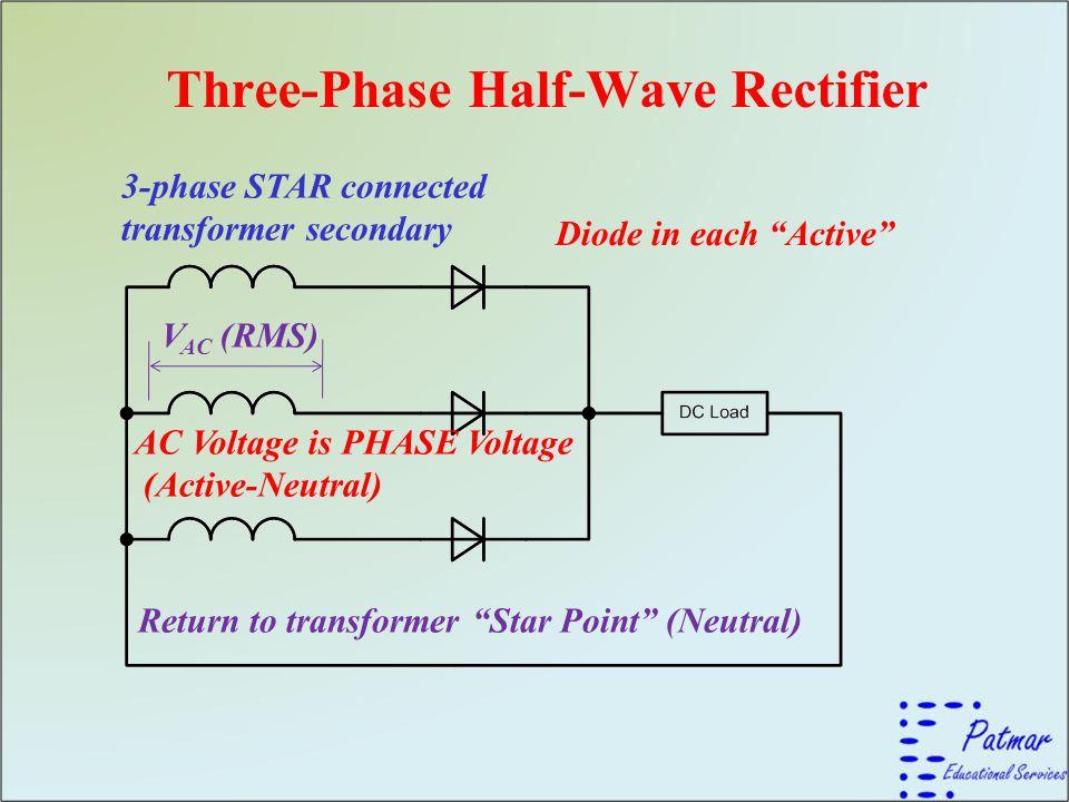 Three-Phase Half-Wave Rectifier