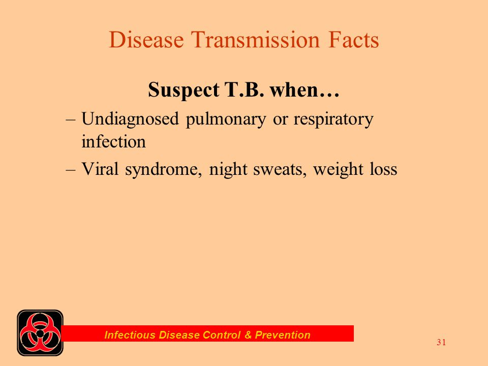 Disease Transmission Facts