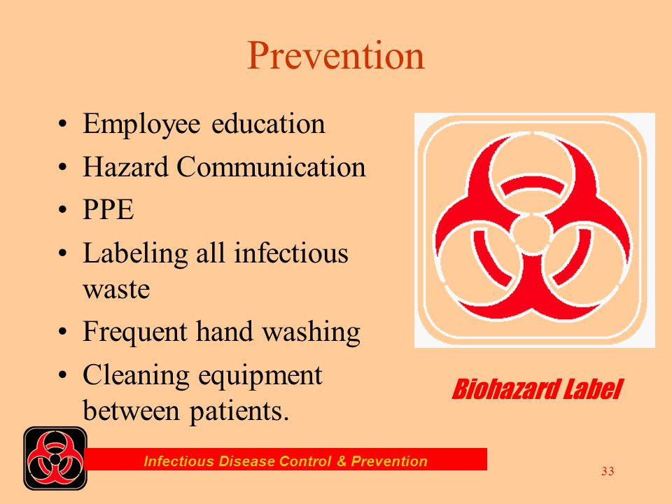 Infectious Disease Control & Prevention