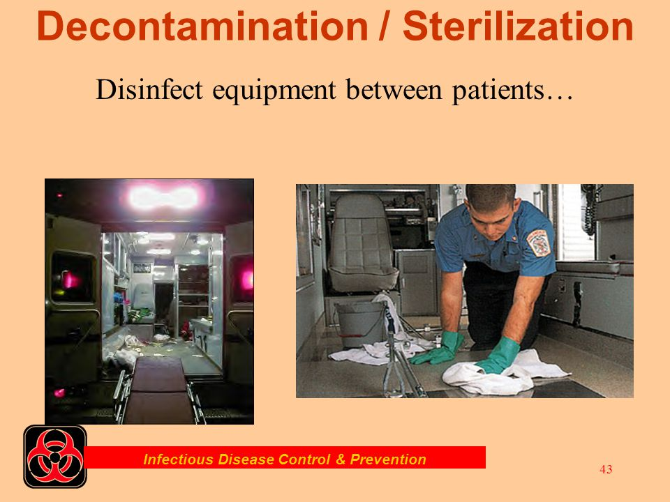 Decontamination / Sterilization
