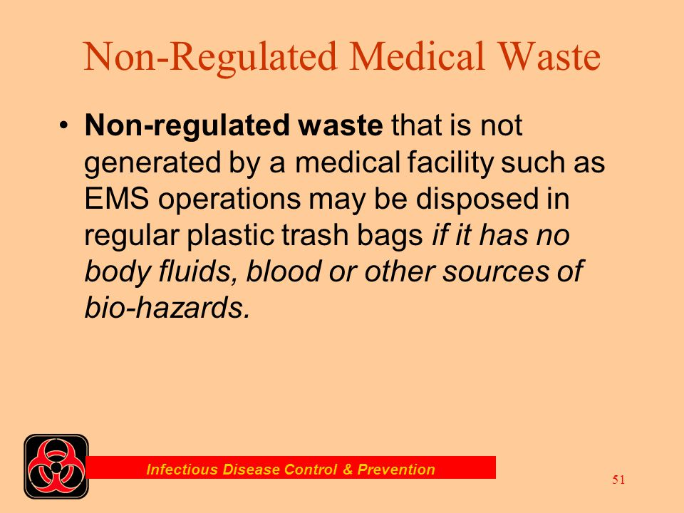 Non-Regulated Medical Waste