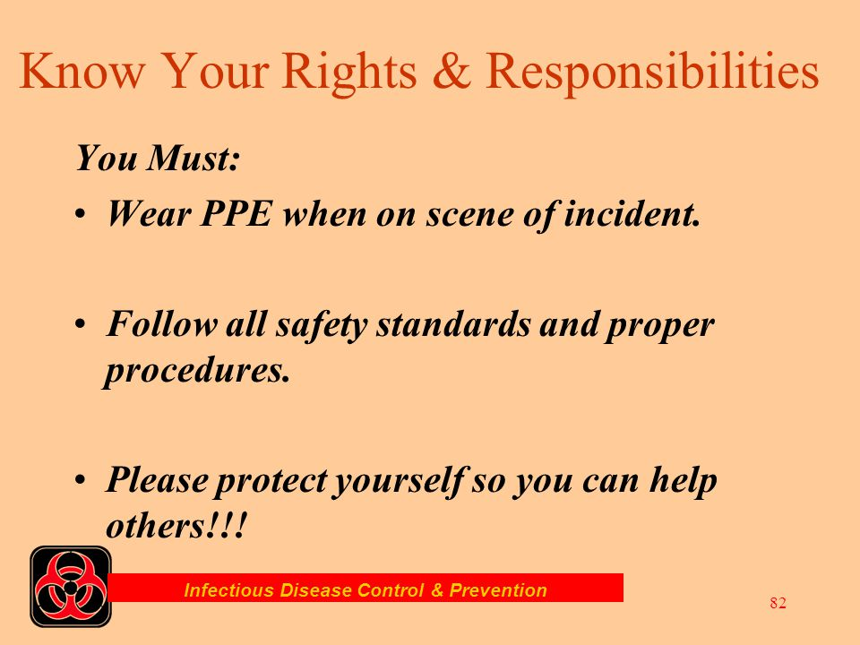 Know Your Rights & Responsibilities