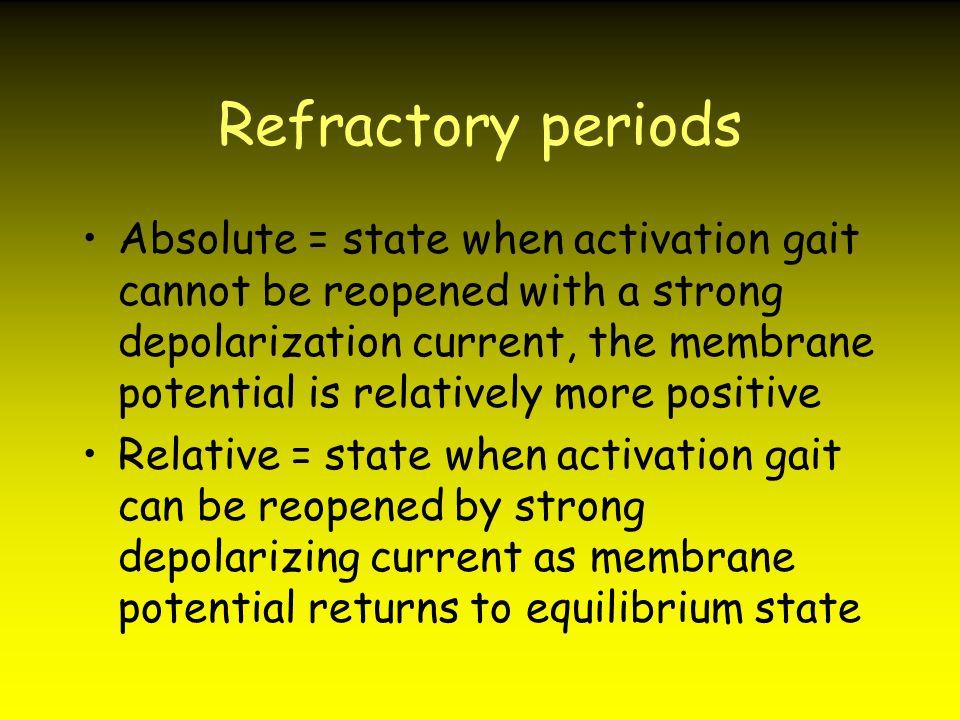 Refractory periods