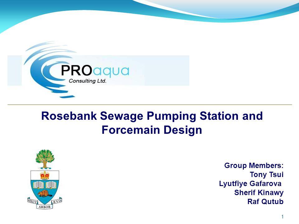 Rosebank Sewage Pumping Station and