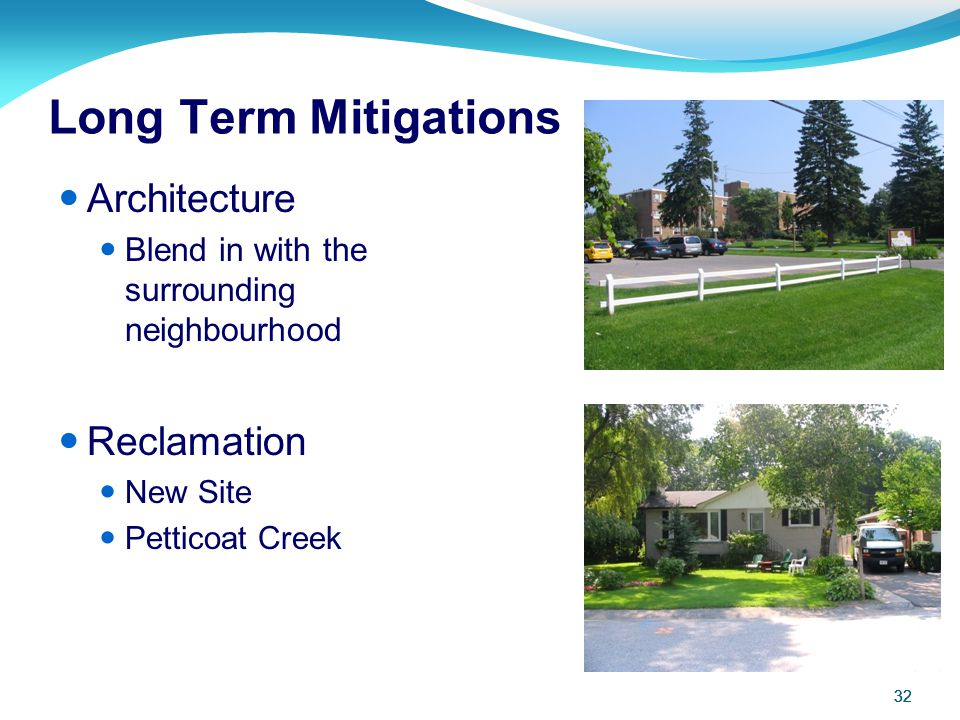 Long Term Mitigations Architecture Reclamation