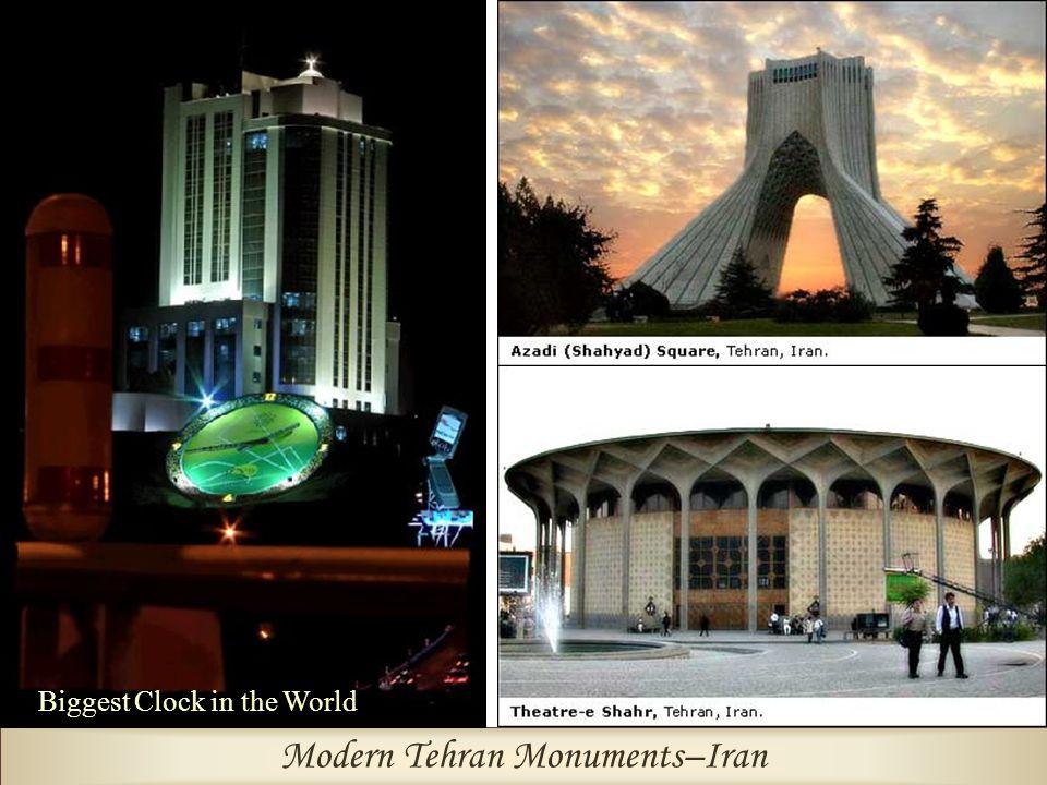Modern Tehran Monuments–Iran