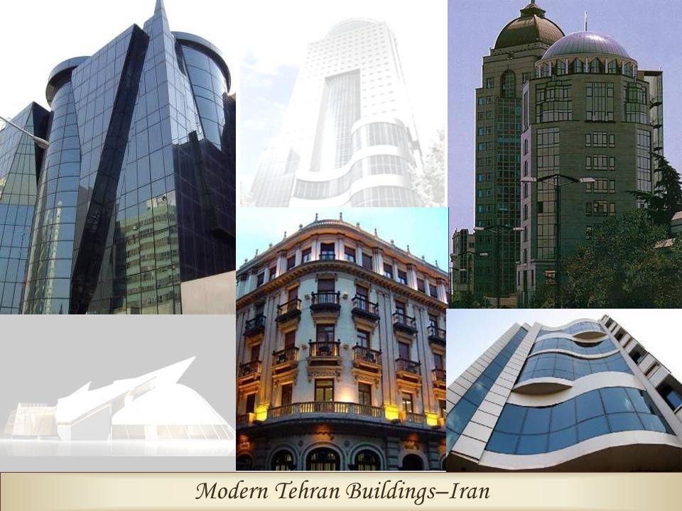 Modern Tehran Buildings–Iran