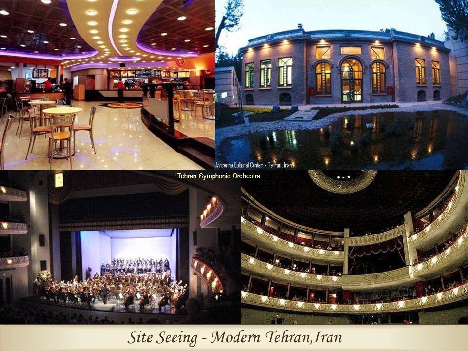 Site Seeing - Modern Tehran,Iran