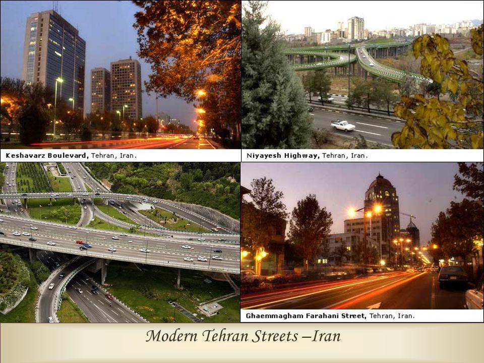Modern Tehran Streets –Iran