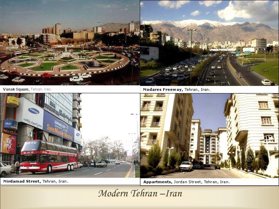Vanak Square, Tehran, Iran.