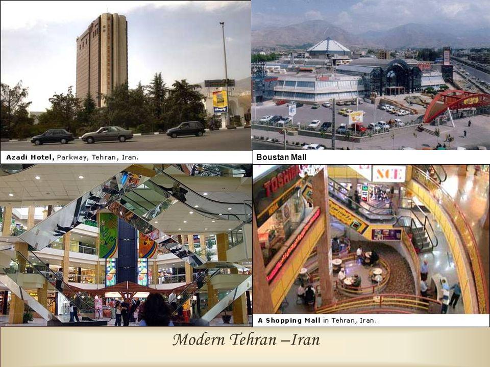 Boustan Mall Modern Tehran –Iran