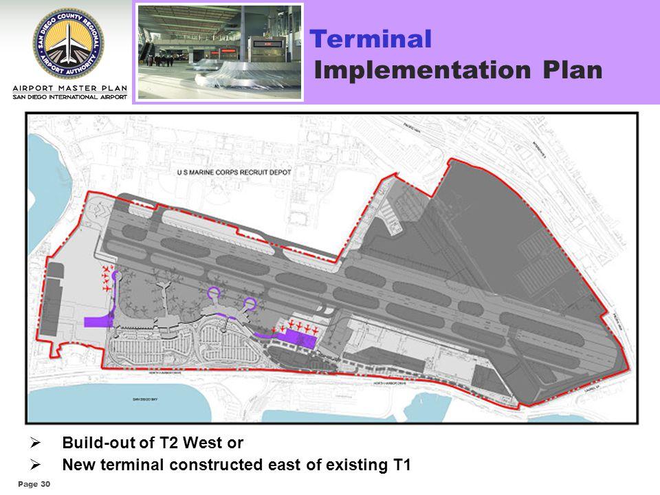 Terminal Implementation Plan