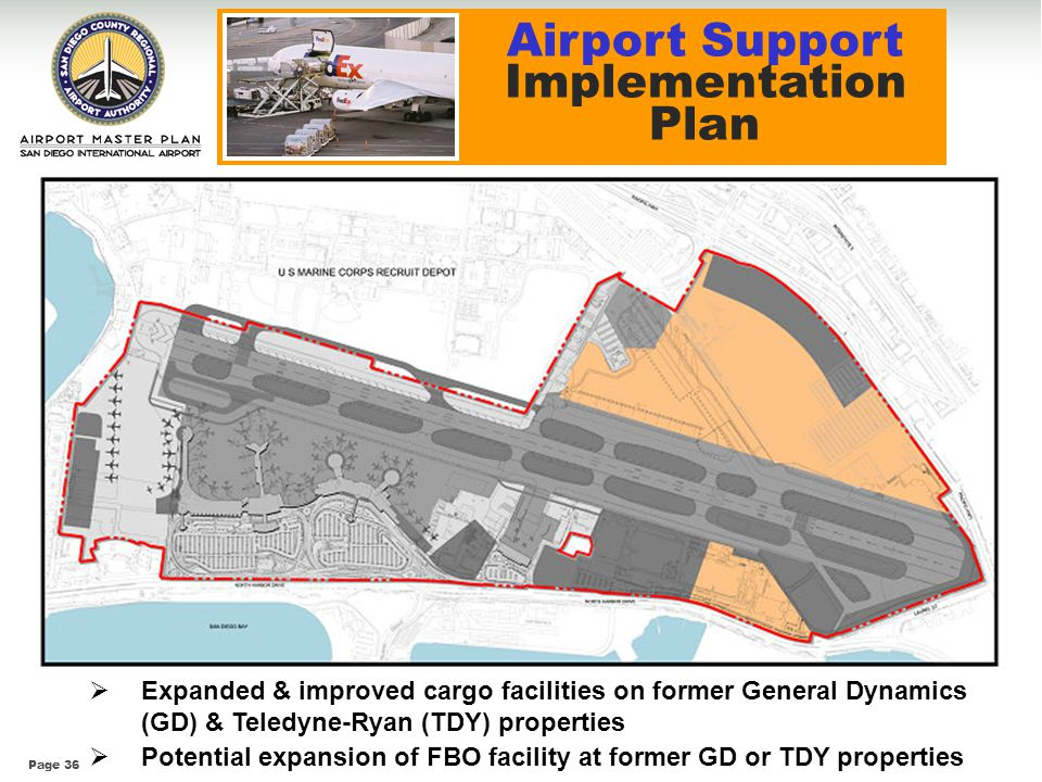 Airport Support Implementation Plan