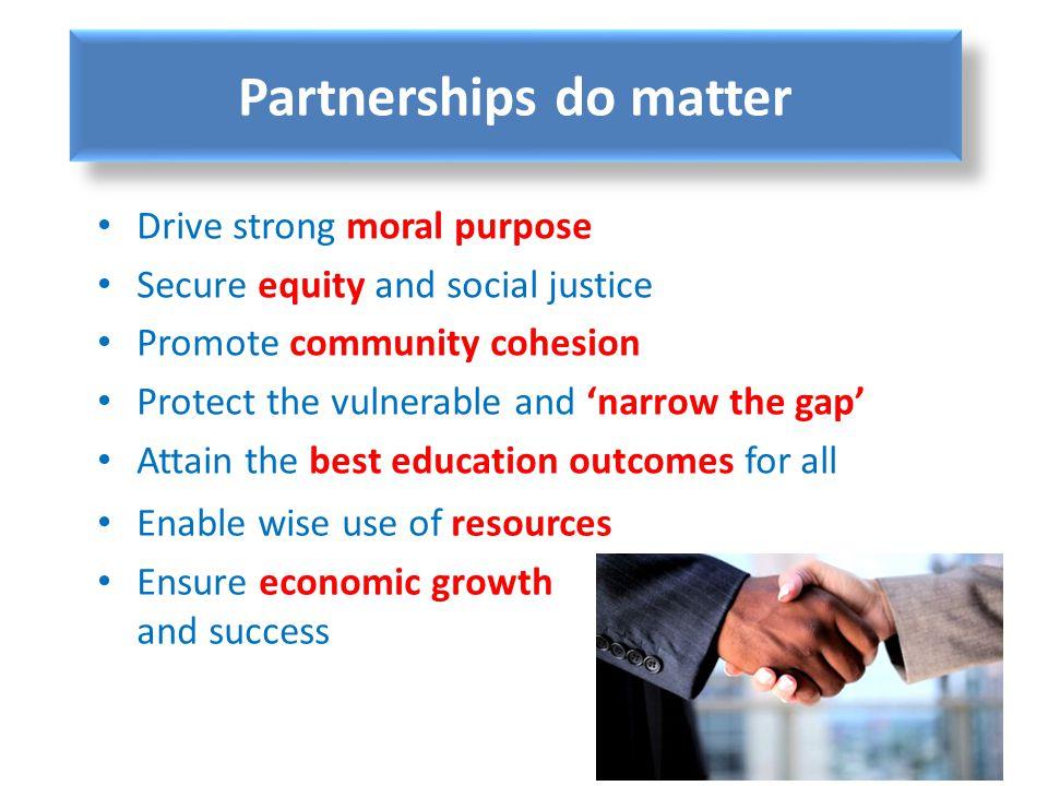 Partnerships do matter