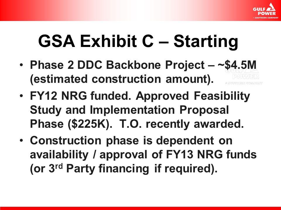 GSA Exhibit C – Starting
