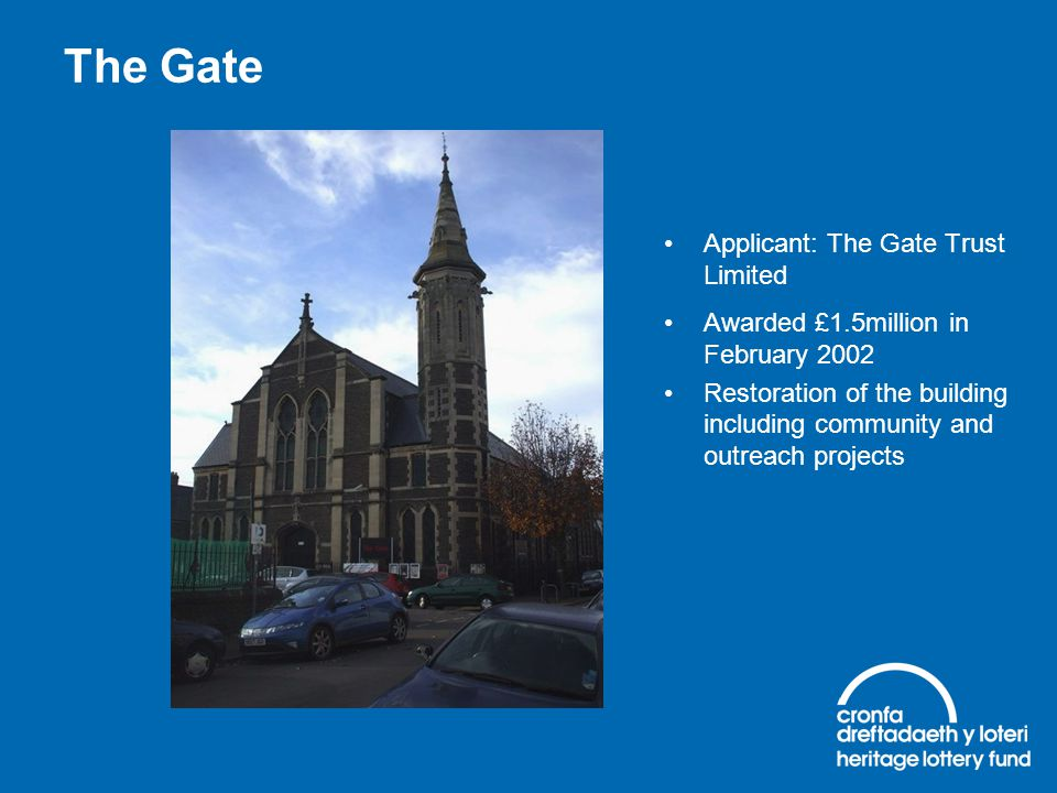 The Gate Applicant: The Gate Trust Limited