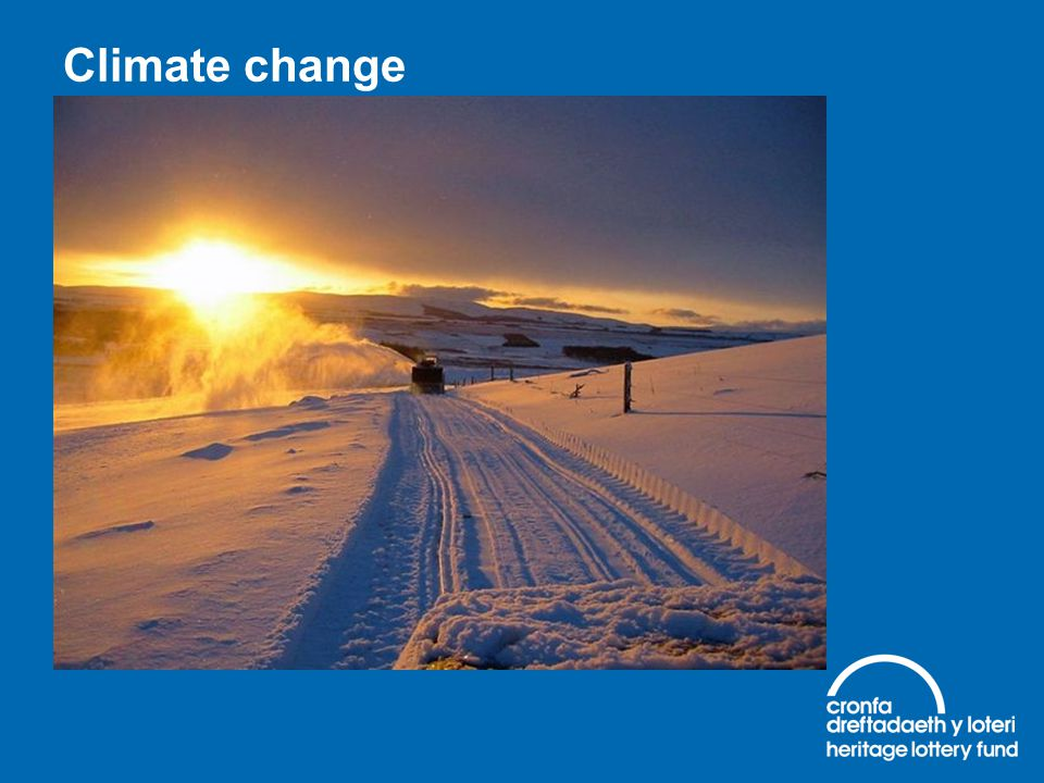 Climate change Challenges of climate change