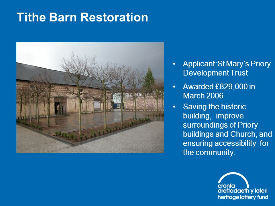 Tithe Barn Restoration
