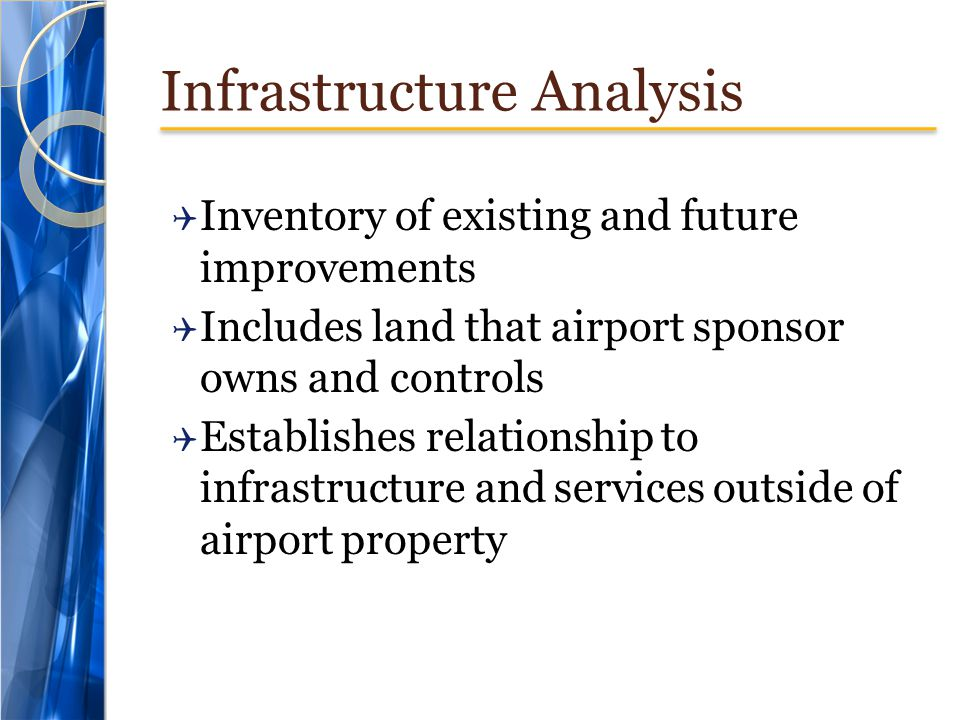 Infrastructure Analysis