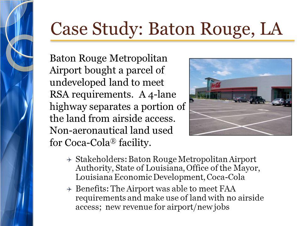 Case Study: Baton Rouge, LA