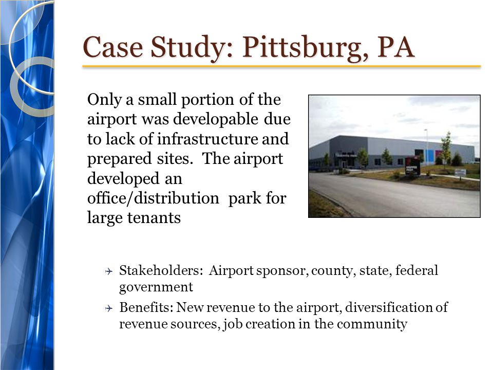 Case Study: Pittsburg, PA