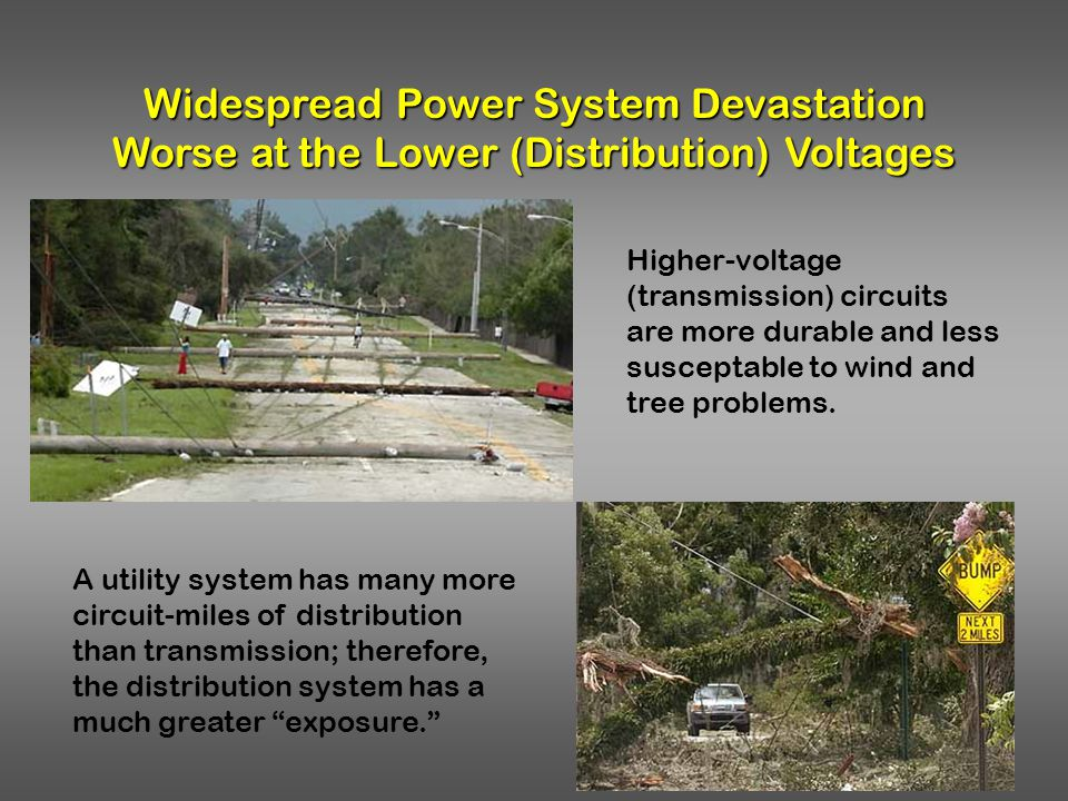 Widespread Power System Devastation