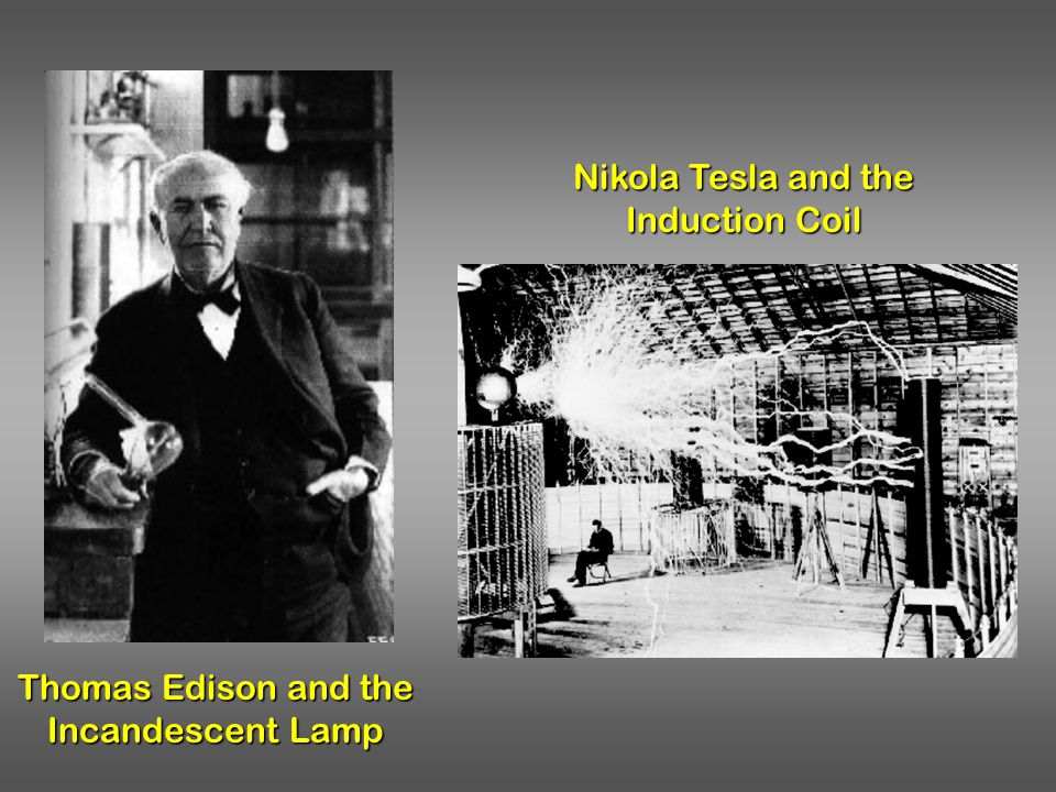 Nikola Tesla and the Induction Coil