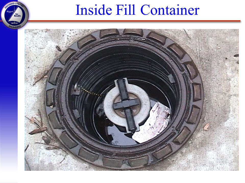 Inside Fill Container Discharge piping can be smaller than the suction piping, the pump will make up for the added pressure.