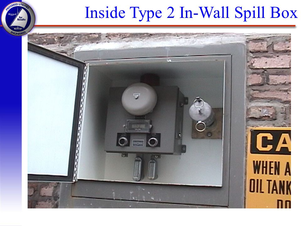 Inside Type 2 In-Wall Spill Box