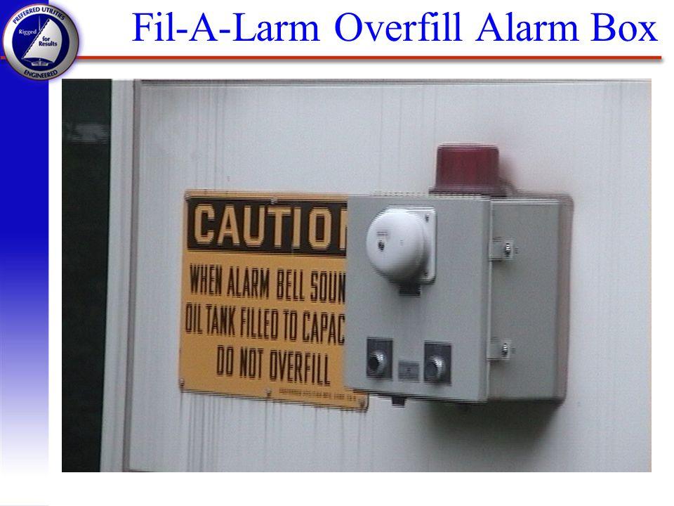 Fil-A-Larm Overfill Alarm Box