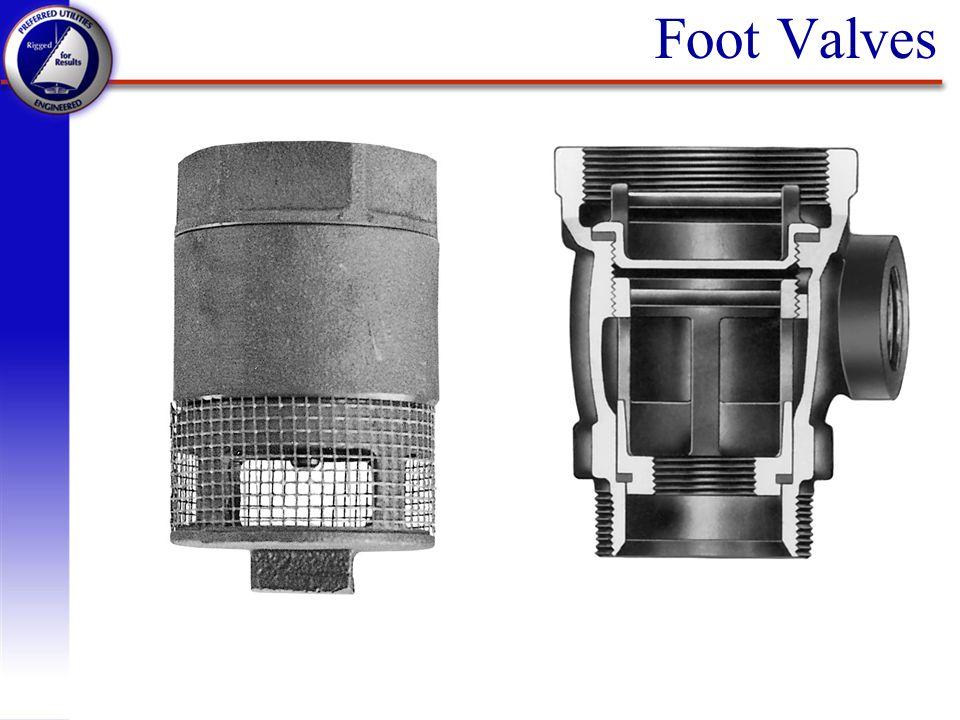Foot Valves