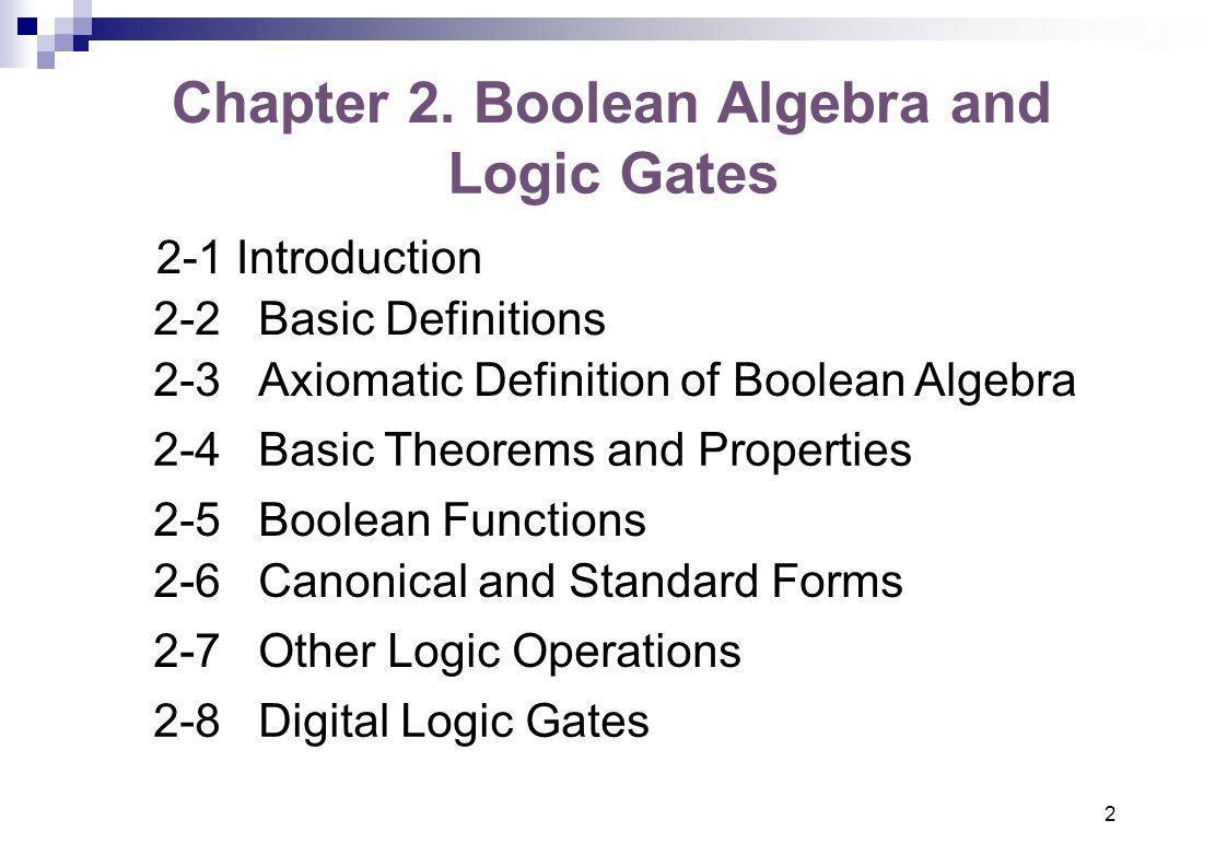 Boolean algebra and logic gates ppt video online download boolean algebra and logic gates falaconquin